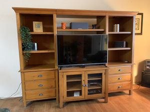 Entertainment center (moving sale) for Sale in Lutz, FL
