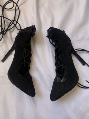 Charlotte Russe lace up heels for Sale in Shafter, CA