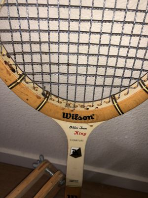 Wilson Billie Jean king vintage tennis racket for Sale in Thornton, CO