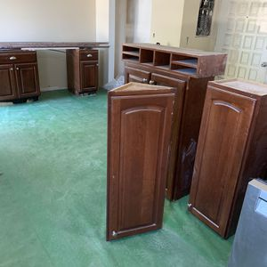 Nice cabinets for a large kitchen as well as double oven and dishwasher for Sale in Tacoma, WA