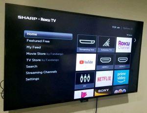 "55"" inch roku tv Sharp for Sale in Phoenix, AZ"