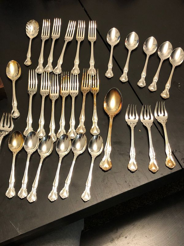Reed and Barton Stainless steel 65 piece set