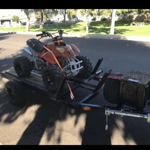 Quad and trailer For 850 for Sale in Glendale, AZ