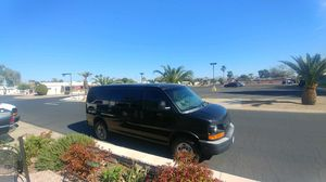 Chevy van 3500 1 ton cold ac runs great. 6.0l. for Sale in Peoria, AZ