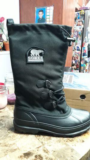 Sorel mens boot brand new size 10 black for Sale in Miami, FL