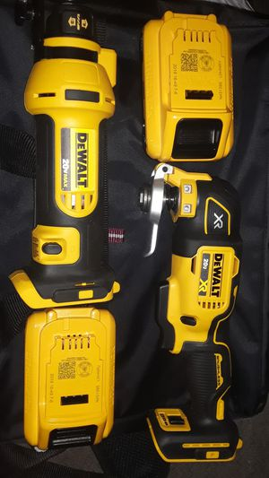 DEWALT 20 MAX TWO PIECE TOOL SET !and Battery! and a 2nd Battery! and Bag! NO CHARHER! for Sale in Bakersfield, CA