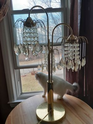 Chandelier table lamp for Sale in Lansing, MI