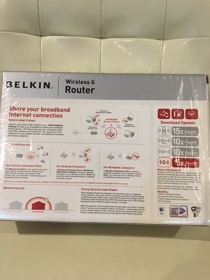 Belkin Wireless G router for Sale in Sterling, VA