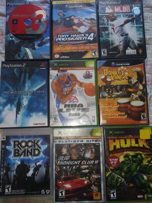 Video games $5 each or all for $25 for Sale in Compton, CA