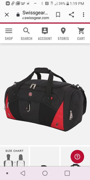 Swiss Gear duffle bag w/ Bell hydration backpack for Sale in Tampa, FL