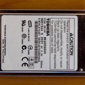 "Laptop 1.8"" 60GB IDE Hard Drive for Sale in Renton, WA"