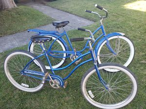 Two vintage beach cruisers for Sale in Fresno, CA