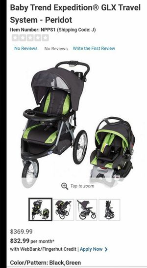 Baby stroller(jogger) and carseat for Sale in Oak Glen, CA