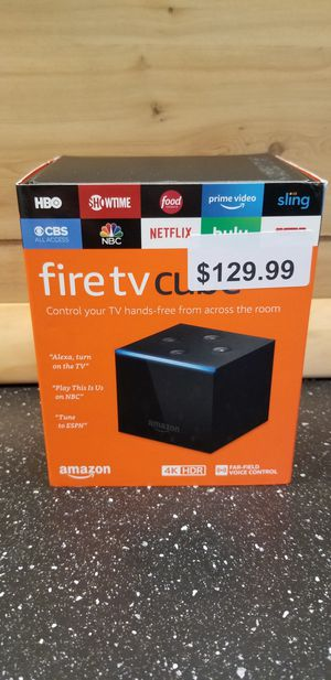 Amazon Fire TV Cube **Watch all movies shows and even live TV** for Sale in Cleveland, OH