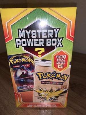 Mystery Pokemon Power Boxes Sealed - Vintage Booster Chance? 2020 for Sale in Elk Grove, CA