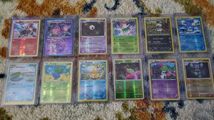 Pokemon Reverse Holographic Card Lot 38 Cards Foils English New School for Sale in Humble, TX