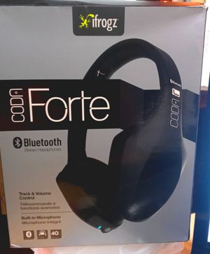 Ifrogs Codn Forte Bluetooth Headphones for Sale in Raleigh, NC