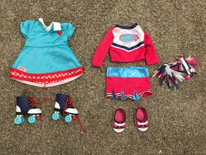 """Our Generation Doll Outfits fits 18"""" American Girl for Sale in Moapa, NV"""