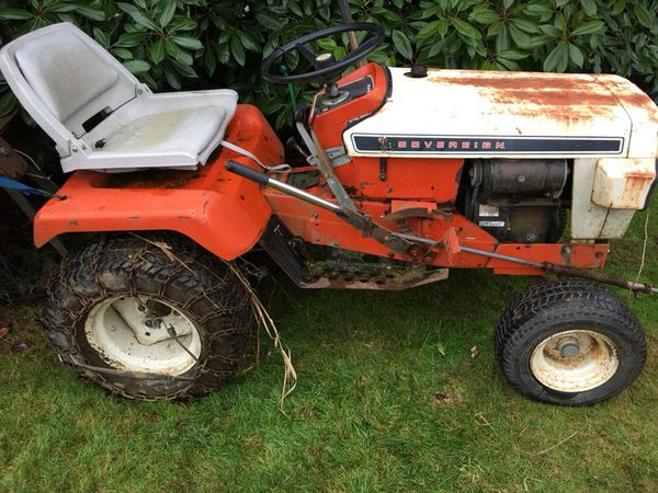 1973 Simplicity Sovereign 3416H garden tractor with implements for Sale in  Everett, WA - OfferUp