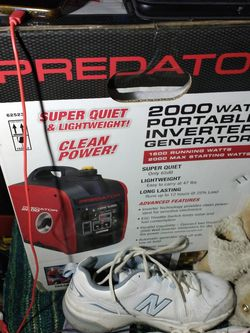 Predator 2000 Generator for Sale in Tacoma,  WA