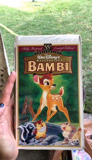 Bambi- Disney VHS Tape for Sale in Norwalk, CA