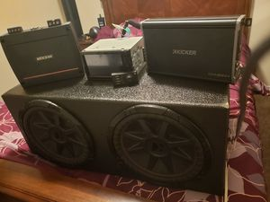 Kicker car audio system for Sale in Fort Worth, TX