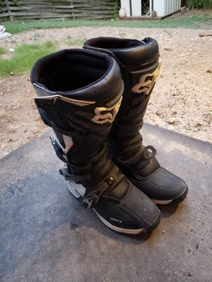 Fox racing boots comp 5 for Sale in San Antonio, TX