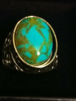 TURQOIRS UNISEX RING for Sale in Denver, CO