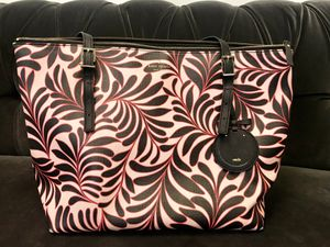 Kate Spade tote bag (Pink, white, and black floral). - New - $80 for Sale in Los Angeles, CA