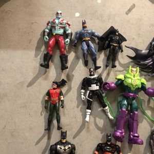 Action Figures Marvel/ DC for Sale in Madera, CA