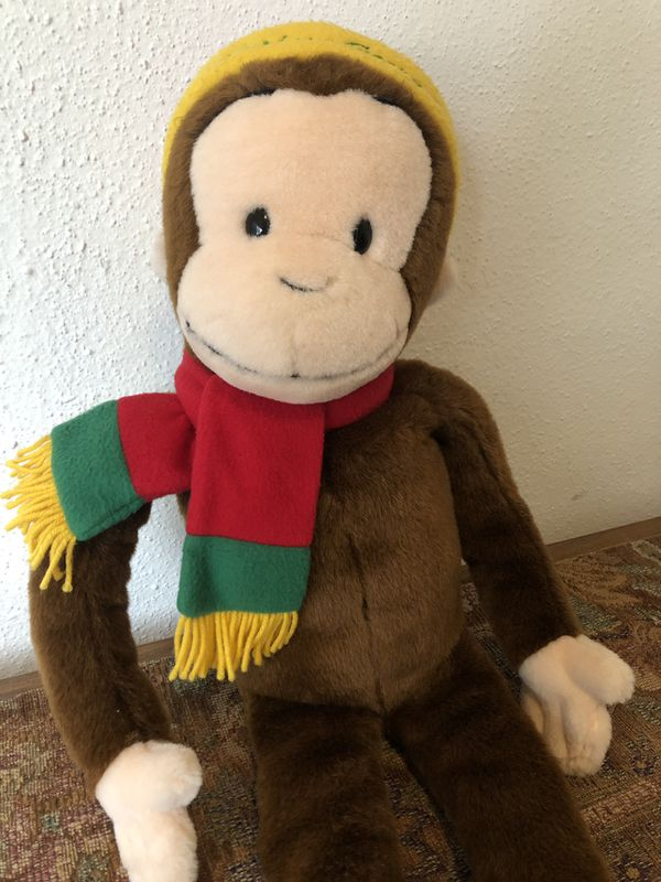 """Curious George Macy's Exclusive 24"""" Plush"""