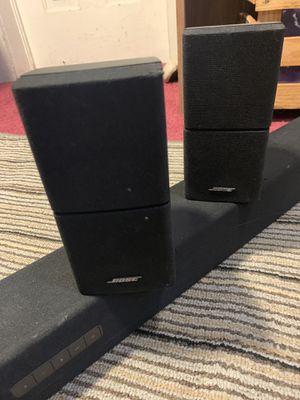 BOSE invisible surround sound and VIZIO speaker bar for Sale in Sulphur Springs, AR