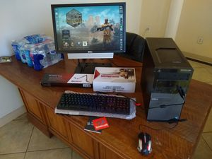 Budget Gaming Desktop PC Computer Bundle i3 4150 8GB RX 460 for Sale in Bloomington, CA