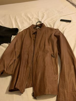 Fathers & Sons lambskin leather jacket for Sale in Fresno, CA