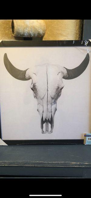 Steer Skull Photo for Sale in Arlington, WA