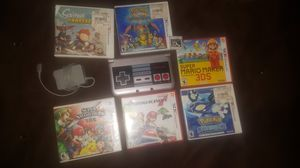 3ds Xl NES Edition +7 games for Sale in Ramona, CA