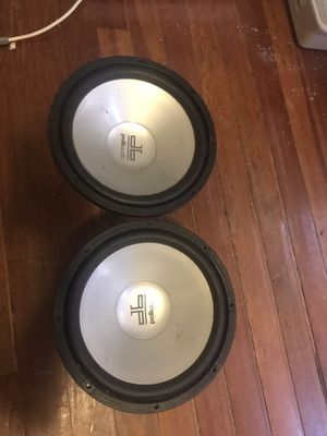 1600 watts 12 inches pollk audio for Sale in Boston, MA