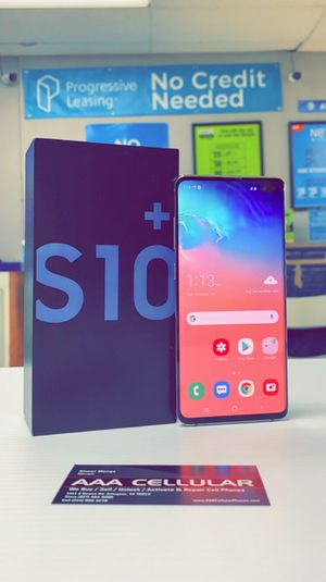 Samsung Galaxy S10 Plus 1TB / 512gb / 128gb Factory Unlocked, Like New, Free Charger and 30 days Warranty! for Sale in Arlington, TX