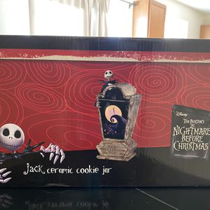 Nightmare before Christmas cookie jar for Sale in Fountain, CO