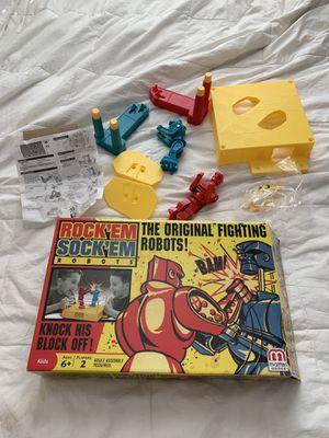 Kids Game - ROCK'EM SOCK'EM ROBOTS for Sale in Chicago, IL