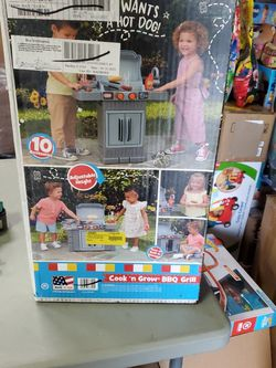 Little Tikes Cook N Grow BBQ Grill for Sale in Riverside,  CA