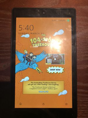 Amazon kindle fire tablet for Sale in East Saint Louis, IL
