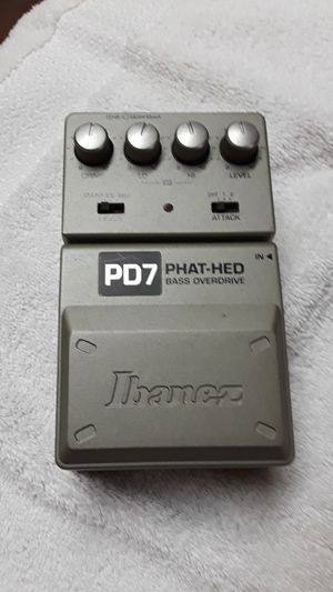 Ibanez PD7 bass overdrive pedal for Sale in Glendale, AZ