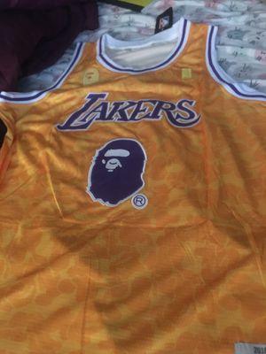 Lebron James bape jersey xl for Sale in Denver, CO