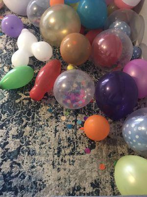 Blown-up balloons (free) for Sale in Boynton Beach, FL