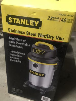 Vacuum, Stanley wet/dry vacuum great for home, garage, work shop for Sale in Corona, CA