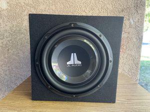 Jl audio subwoofer for Sale in Modesto, CA