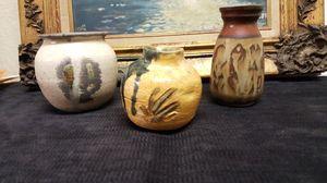Handmade decorative clay pots for Sale in Buena Park, CA