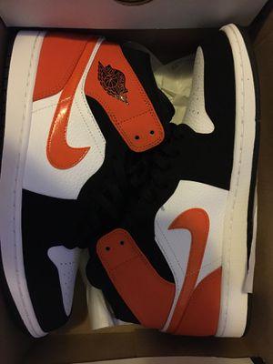 Air Jordan 1 mid shattered backboard shoe for Sale in Los Angeles, CA