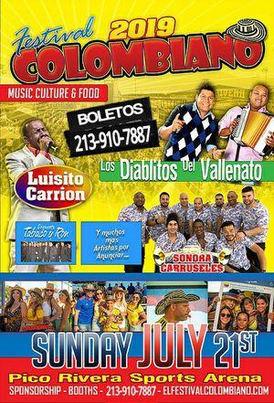 Festival Colombiano este Domingo for Sale in Los Angeles, CA